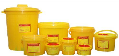 Емкости и контейнеры для сбора острого инструмента