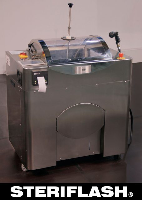 Установка для утилизации медицинских отходов Steriflash