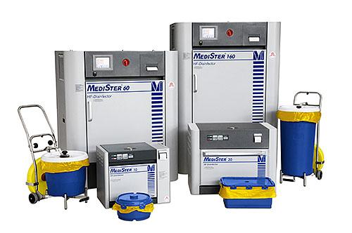 Система MediSter® для сбора и термической дезинфекции медицинских отходов